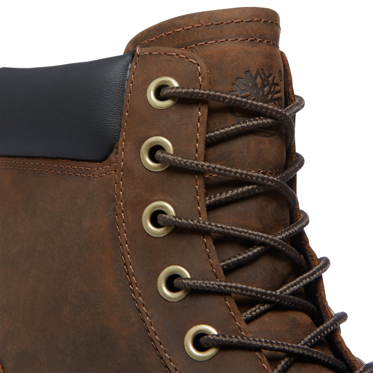 Timberland Men's Earthkeepers® Rugged 6 Inch Plain Toe Waterproof Boot Dark Brown (Model A11M6)