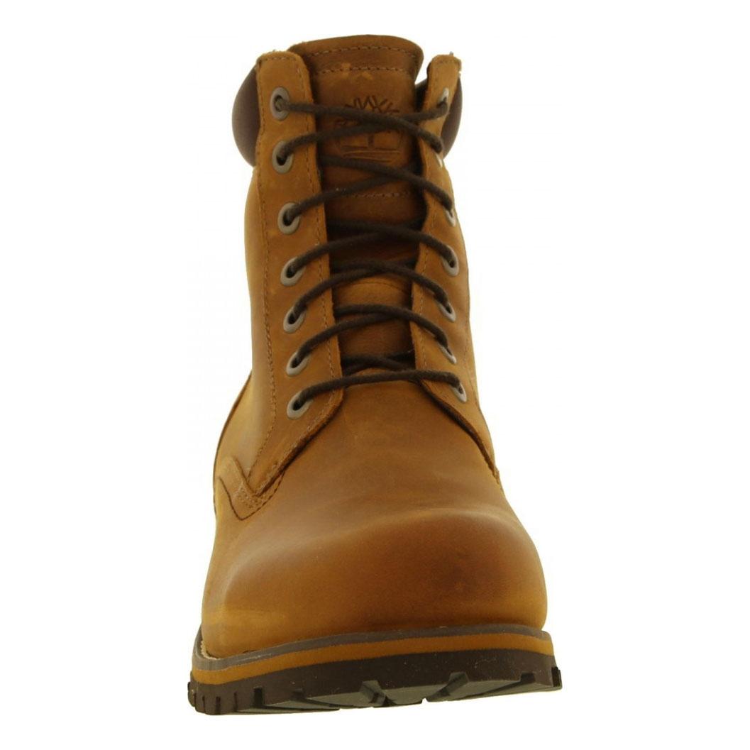 661a34b43fe Timberland Earthkeepers Rugged 6 Inch Waterproof Plain Toe Boot (Men's) -  Copper Roughcut Light