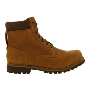 Image of Timberland Earthkeepers Rugged 6 Inch Waterproof Plain Toe Boot (Men's) - Copper Roughcut Light