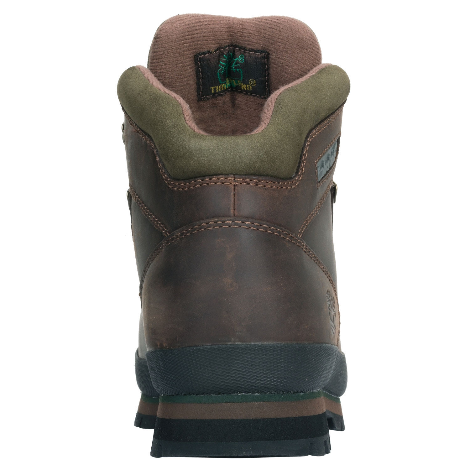 51fd1beb6f0 Timberland Euro Hiker Leather Walking Boots (Men's) - Brown Smooth
