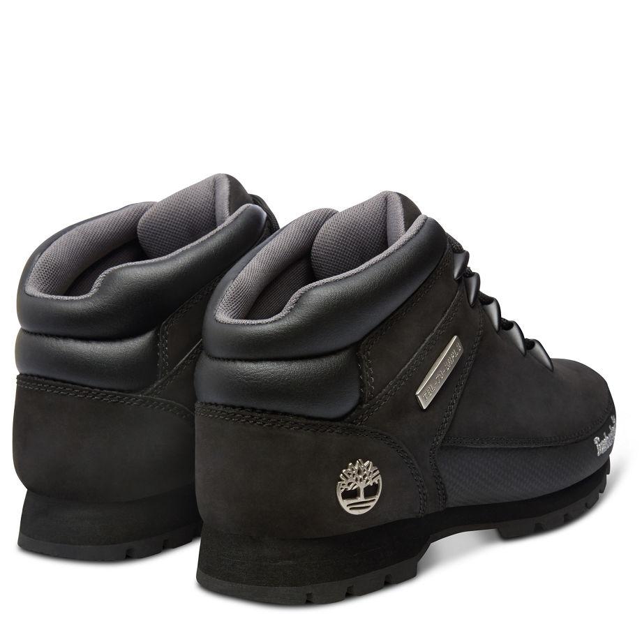 23204f73f2e ... Image of Timberland Euro Sprint Hiker Walking Boots (Men's) - Black  Nubuck ...