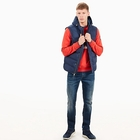 Image of Timberland Goose Eye Vest (Men's) - Dress Blue