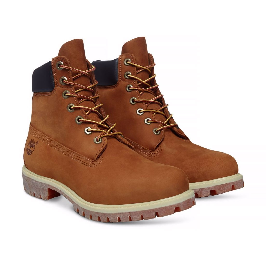 452a37fb5d23 ... Image of Timberland Icon Classic 6 Inch Premium Original Boot (Men s) - Rust  Nubuck ...