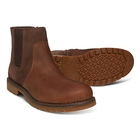 Image of Timberland Earthkeepers Larchmont Waterproof Chelsea Boots (Men's) - Gaucho Saddleback (Dark Brown) Full Grain