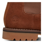 Image of Timberland Earthkeepers Larchmont Waterproof Chelsea Boots (Men's) - Medium Brown Nubuck (Oakwood Poseidon)