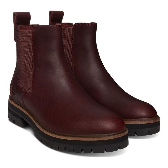 981133fb22f Timberland London Square Chelsea Boot (Women's) - Burgundy
