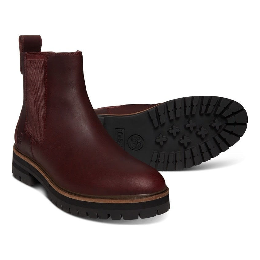 Timberland London Square Chelsea Boot (Women's) Burgundy