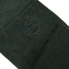 Image of Timberland Marled Ribbed Crew Socks - 2 Pack (Men's) - Darkest Spruce