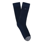 Image of Timberland Marled Ribbed Crew Socks - 2 Pack (Men's) - Dress Blue