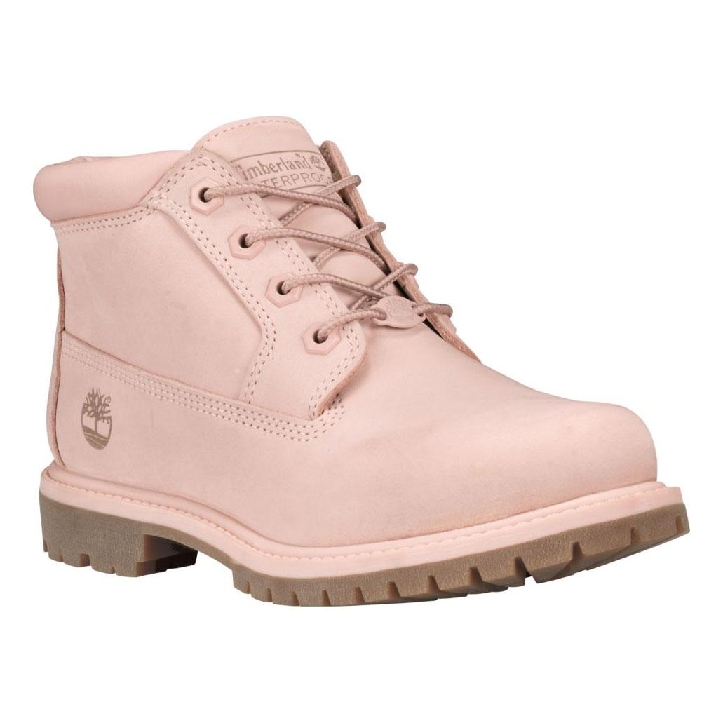 ... Image of Timberland Nellie Chukka Double WP Boots (Women s) - Light Pink  Nubuck ad9c409c4