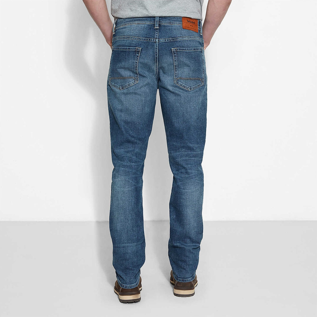 Stretch Jeansmen'sIndigo Lake Denim Squam Straight Timberland KlT15uJ3Fc