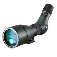 Vanguard VEO HD 80A Angled Spotting Scope with a 20-60x zoom eyepiece
