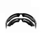 Image of Wiley X Gravity Sunglasses - Polarized Blue Mirror  / Black Crystal