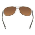Image of Wiley X Klein Gold Mirror Polarized Sunglasses - Amber Lenses/Gunmetal Frame